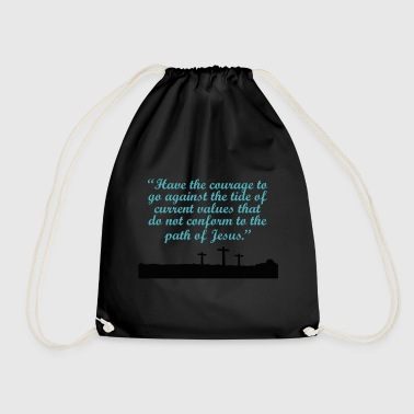 God god - Drawstring Bag