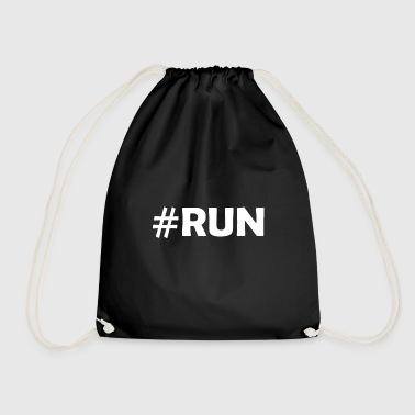 Running Run #run Sport Running - Drawstring Bag