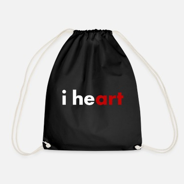I Heart I heart - i hey ART - Gymtas