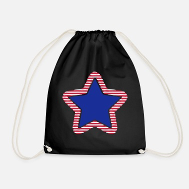 Stars And Stripes USA Star Stars & Stripes Marine - Drawstring Bag