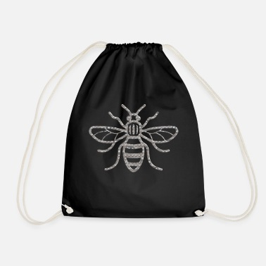 Manchester Manchester Bee Industrial Riveted - Drawstring Bag