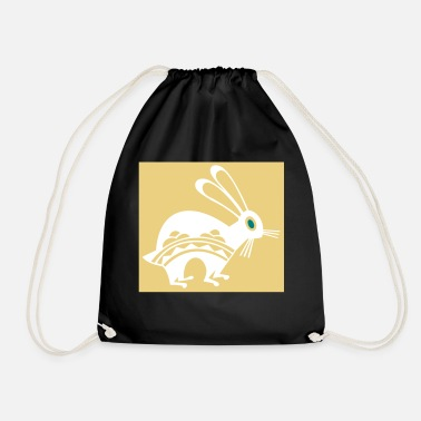 Easter Bunny bunny easter bunny easter animal - Drawstring Bag
