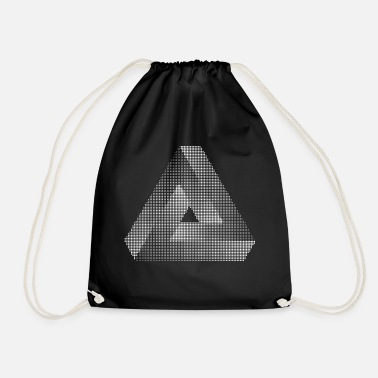 Triangle Triangle triangle - Drawstring Bag