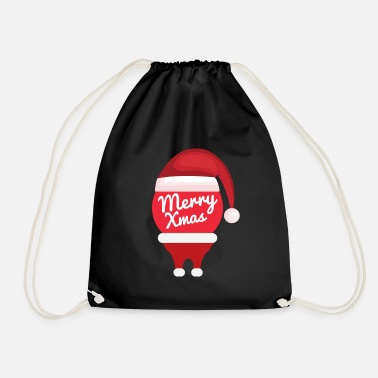 Merry Xmas merry xmas - Drawstring Bag