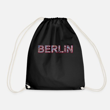 Grafitti Berlin Grafitti - Drawstring Bag