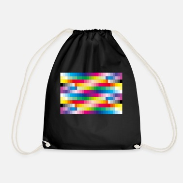 Bright Colours Colours - Drawstring Bag