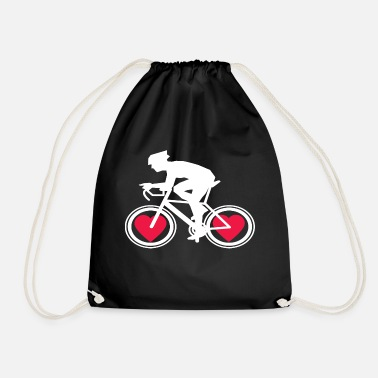 Bike Messenger Bike Bike Bicycle Mountain Bike Bicycle Messenger - Drawstring Bag