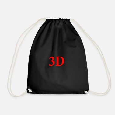Three D 3D - Drawstring Bag