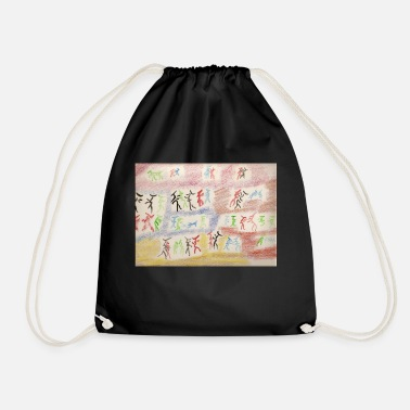 The dancers - Drawstring Bag