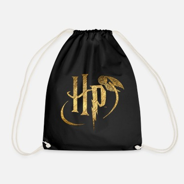 Harry Potter Logo Gold - Gymnastiktaske