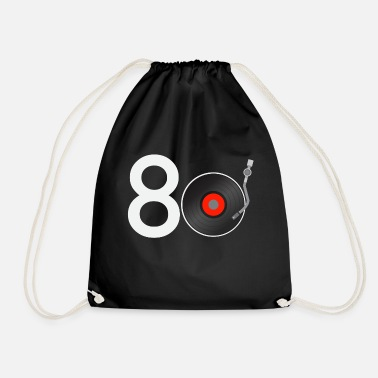 Eighty eighties music - Drawstring Bag