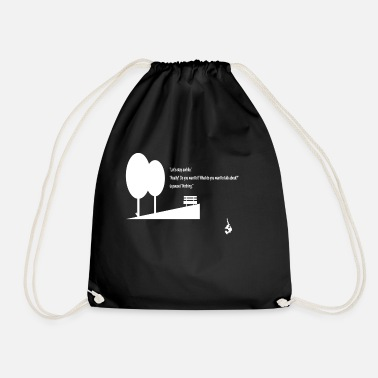 A Walk in the Woods - Drawstring Bag