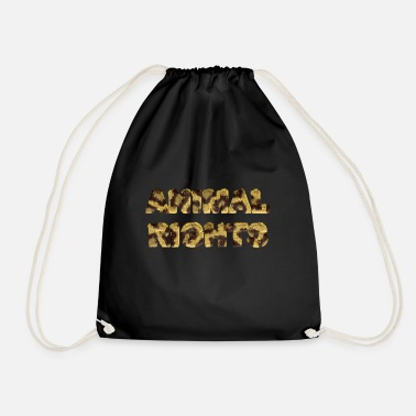 Animal Rights ANIMAL RIGHTS - Drawstring Bag