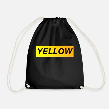 Yellow Yellow - Drawstring Bag