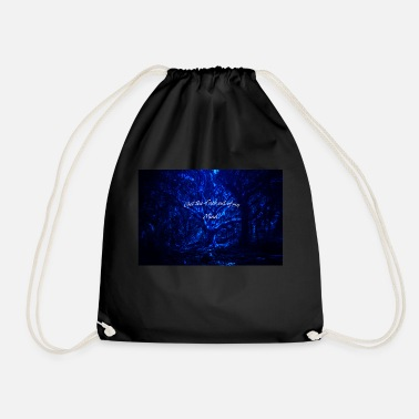 Get the fuck out of my mind - Drawstring Bag