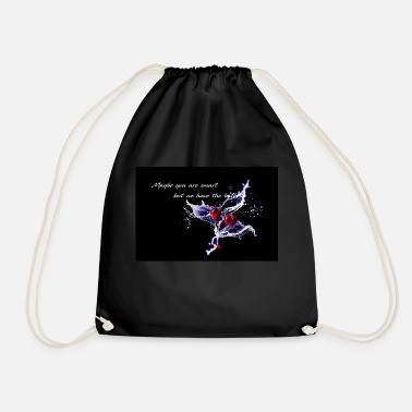 Cherry - Maybe you are smart - Drawstring Bag