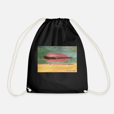 Caribbean hot dog - Drawstring Bag