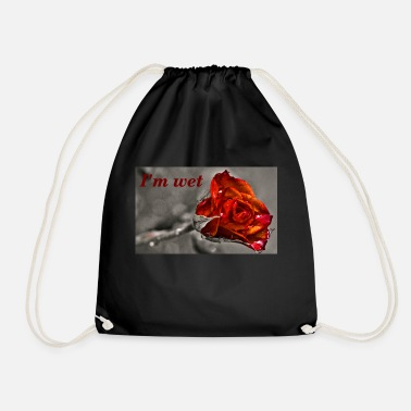 Wet Wet! - Drawstring Bag