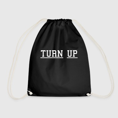 TURN UP - Drawstring Bag