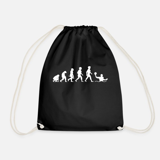 Water Polo Bags & Backpacks - Evolution Water Polo Water Polo Water Sports - Drawstring Bag black