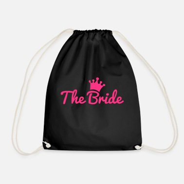 Bride bride - Drawstring Bag