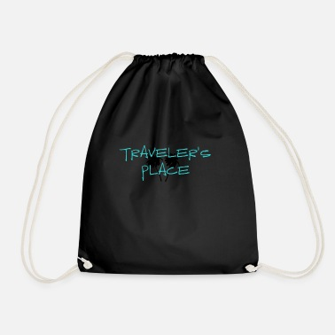 Traveler's Place Palm Design - Turnbeutel