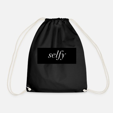 Selfie Selfy - Drawstring Bag