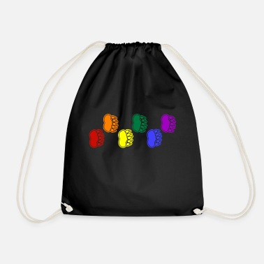 Paw Rainbow Paws tank - Drawstring Bag