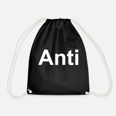 Monopoly Anti T-shirt an icon for every anti - Drawstring Bag