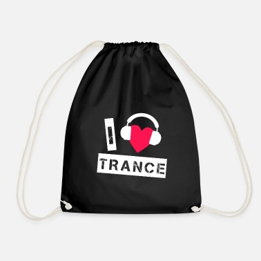 Trance Trance love - Drawstring Bag