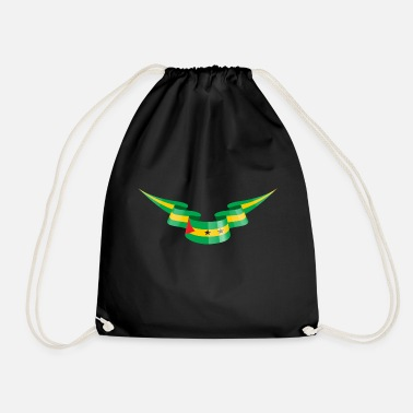 Sao Tome And Principe Sao Tome and Principe flag banners - Drawstring Bag