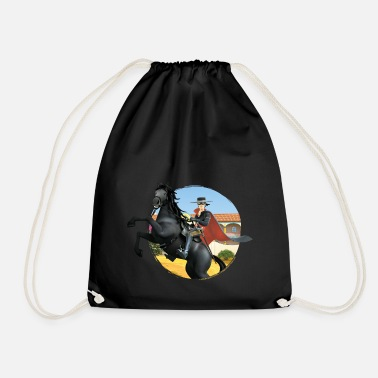 Zorro The Chronicles Riding Horse Tornado - Mochila saco