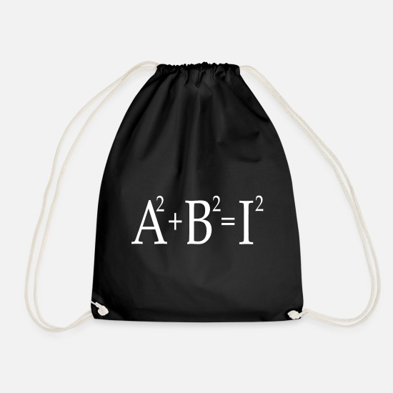 High School Senior Bags & Backpacks - Graduation Abi graduation - Drawstring Bag black