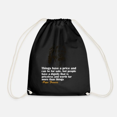 Pope Pope - Drawstring Bag