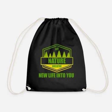 Nature Conservation Nature - conservation - Drawstring Bag