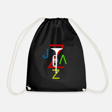 Jazz jazz - Drawstring Bag