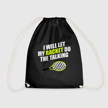 Tennis Tennis racket Tennis match Tennis match - Drawstring Bag