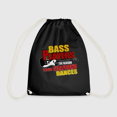 Bass bass - Drawstring Bag
