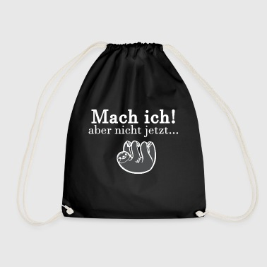 for Lazy - Drawstring Bag