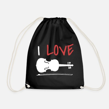 Violin Violin violin - Drawstring Bag