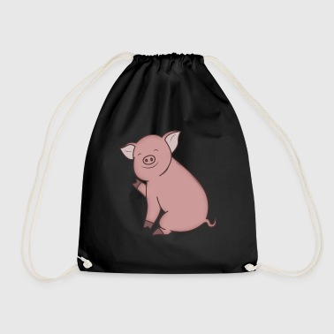 Piggy piggy - Drawstring Bag