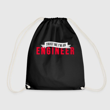 Engineer Engineering Electrical Engineer Profession - Drawstring Bag