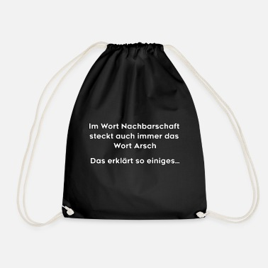 Neighborhood Neighborhood - Drawstring Bag