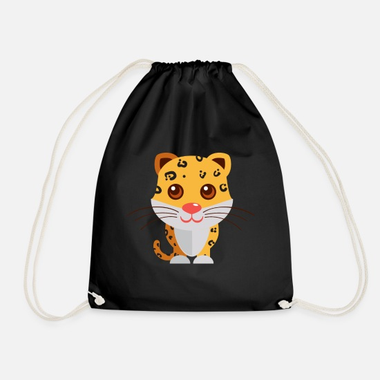 Animalbirds Bags & Backpacks - Animals Animals Animal Print Nature 39 - Drawstring Bag black