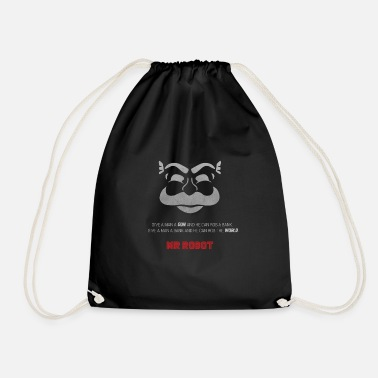 Series Mr Robot - Fsociety - Drawstring Bag