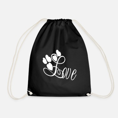 Love With Heart Love with heart gift - Turnbeutel