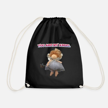 You are my angel. - Drawstring Bag
