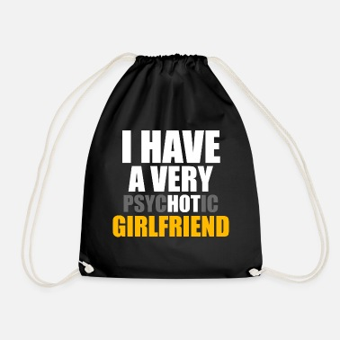 Girlfriend girlfriend - Drawstring Bag