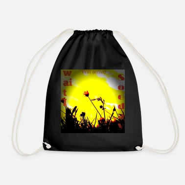 The sun will rise again - Drawstring Bag