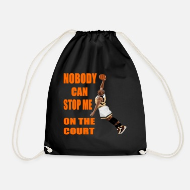 Court king of the court - Drawstring Bag